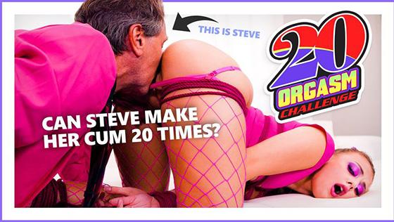 [AdultTime] Gia Derza (Twenty Orgasm Challenge / 01.14.2020)