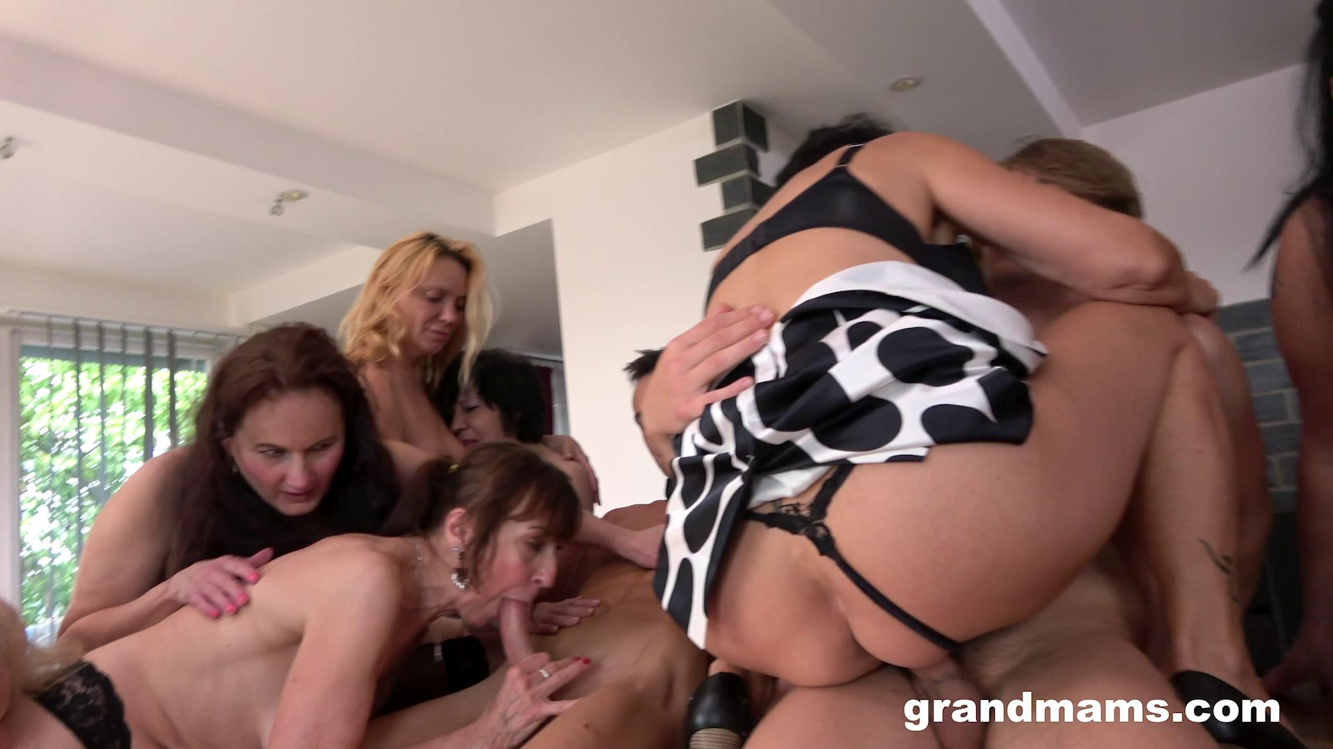 [GrandMams] Horny Grandmams And Toyboys Part 3 (07.21.2020)