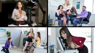 [MylfSelects] Dana Dearmond, Bridgette B, Adrian Hush, Ariella Ferrera (Naughty Company Bonus / 03.30.2021)