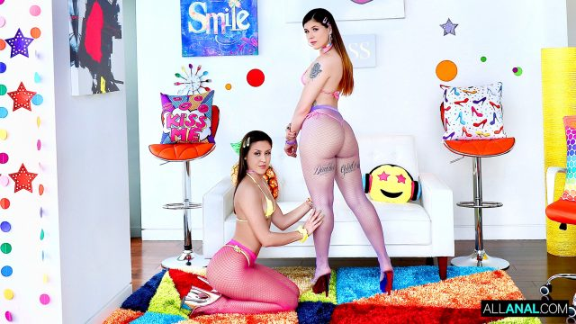 [AllAnal] Isabel Moon, Catalina Ossa (Catalina Sucks It Out of Isabel's Ass / 04.01.2021)