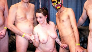 [GroupBanged] Adrien Kiss (Adrien the newcomer makes them all cum / 06.28.2021)