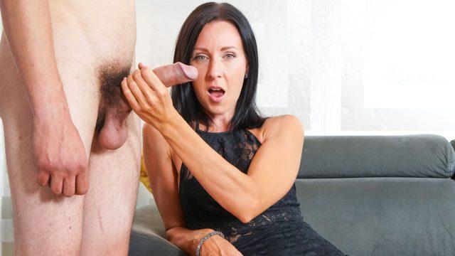[4KCFNM] Linda Caprice (MILF with her bigdick toyboy / 08.13.2021)